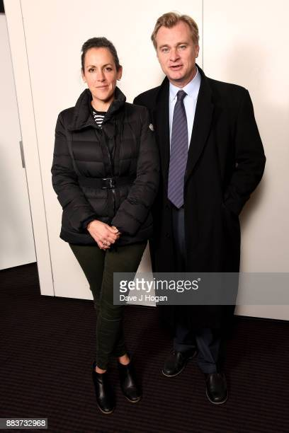 Director Christopher Nolan and Emma Thomas attend a BAFTA 'Life In Pictures' photocall at BAFTA on December 1 2017 in London England