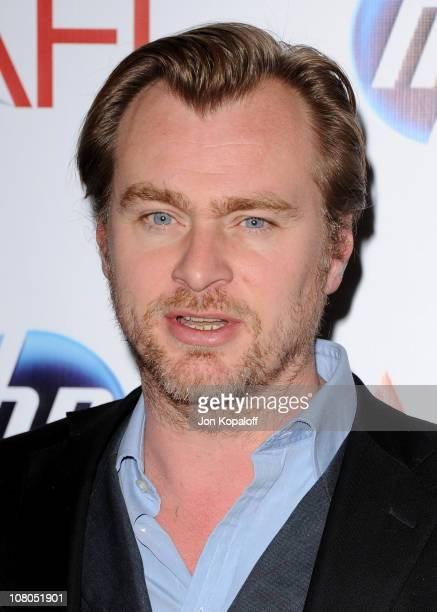 Director Christopher Nolan arrives at the 2011 AFI Awards at The Four Seasons Hotel on January 14, 2011 in Beverly Hills, California.