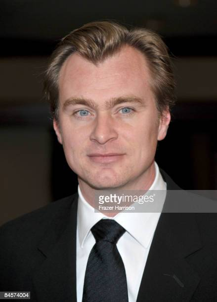 Director Christopher Nolan arrives at the 61st Annual Directors Guild of America Awards at the Hyatt Regency Century Plaza on January 31 2009 in Los...