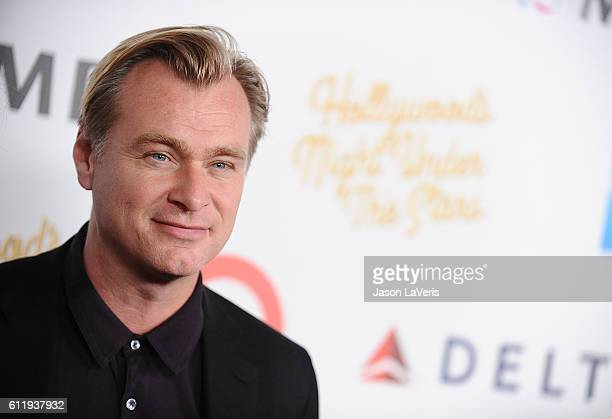 Director Christopher Nolan attends MPTF's 95th anniversary celebration 'Hollywood's Night Under The Stars' on October 1 2016 in Los Angeles California