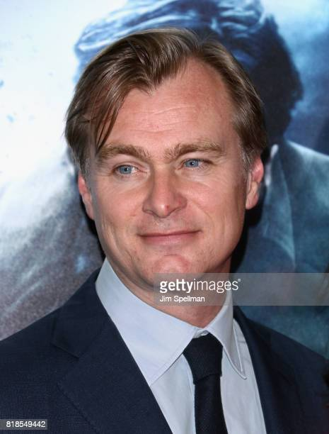 Director Christopher Nolan attends the DUNKIRK New York premiere at AMC Lincoln Square IMAX on July 18 2017 in New York City