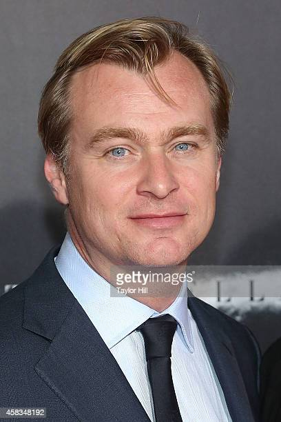 Director Christopher Nolan attends the Interstellar New York premiere at AMC Lincoln Square Theater on November 3 2014 in New York City