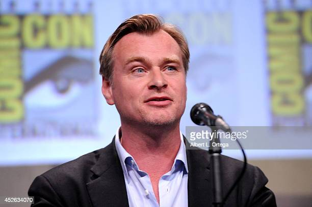 Director Christopher Nolan attends the Paramount Studios presentation during ComicCon International 2014 at the San Diego Convention Center on July...