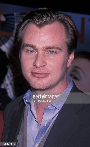 """Director Christopher Nolan attends the premiere of """"Memento"""" on March 13, 2001 at Regent Showcase Cinema in Los Angeles, California."""