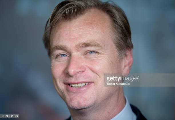 Director Christopher Nolan attends the red carpet premiere of Dunkirk at the Smithsonian Museum on July 19 2017 in Washington DC