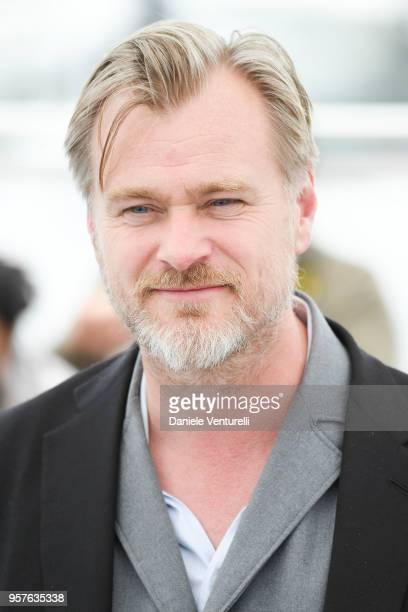 Director Christopher Nolan attends the Rendezvous With Christopher Nolan photocall during the 71st annual Cannes Film Festival at Palais des...