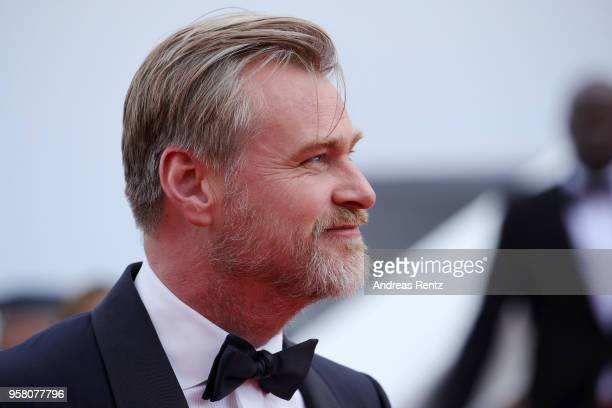 """Director Christopher Nolan attends the screening of """"2001: A Space Odyssey"""" ahead of the """"Sink Or Swim """" Premiere during the 71st annual Cannes Film..."""