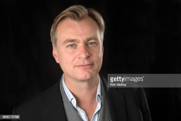 Director Christopher Nolan is photographed for Los Angeles Times on November 16 2017 at his office at Warner Bros Studios in Hollywood California...