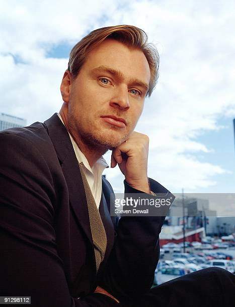 Director Christopher Nolan poses for a portrait on March 1st 2001 in Los Angeles California United States