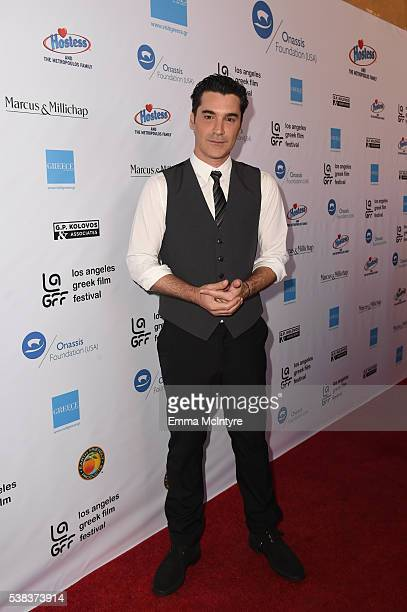 Director Christopher Papakaliatis attends the 2016 LA Greek Film Festival premiere of 'Worlds Apart' at the Egyptian Theatre on June 5 2016 in...
