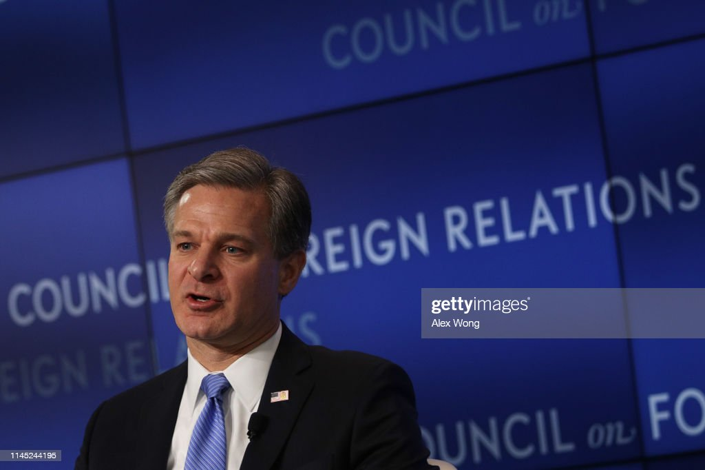 DC: FBI Director Wray Discusses Global Threats At Council On Foreign Relations