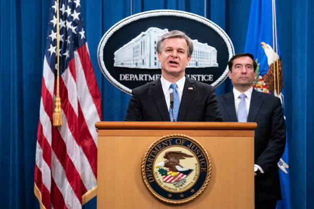 DC: Justice Department Officials Brief Media On National Security Related Matter