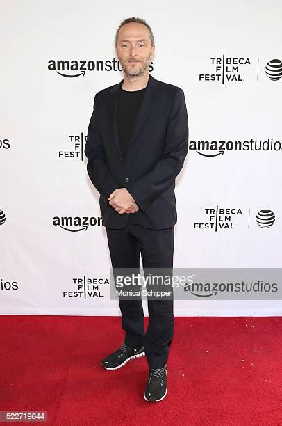 Director, cinematographer Emmanuel Lubezki attends Tribeca Talks Directors Series: Alfonso Cuaron at SVA Theatre 1 on April 20, 2016 in New York City.