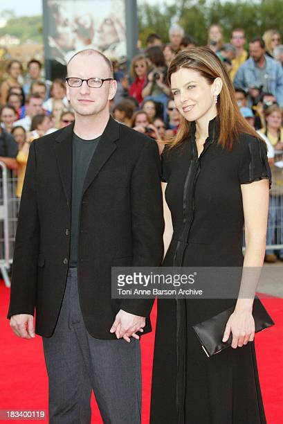 Director / cinematographer Steven Soderbergh and wife Jules Asner