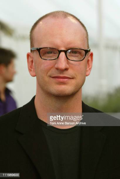 Director / cinematographer Steven Soderbergh during Deauville 2002 Full Frontal Premiere in Deauville France