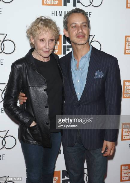 "Director Claire Denis and producer Andrew Lauren attend the 56th New York Film Festival premiere of ""High Life"" at Alice Tully Hall, Lincoln Center..."