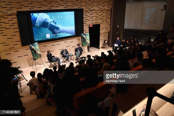 Director Claire Denis and Robert Pattinson speak at The Film Society of Lincoln Center's Film Comment Free Talk for High Life at Elinor Bunin Munroe...