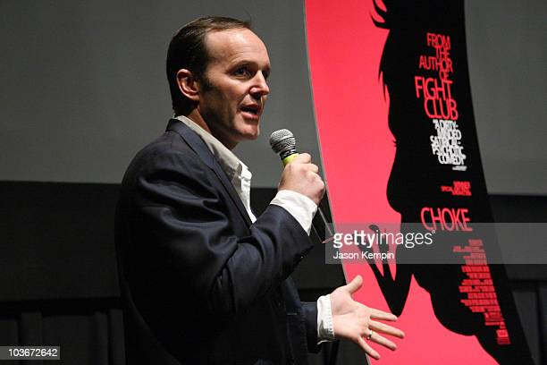 Director Clark Gregg attends the Choke Screening during the 2008 Sundance Institute at BAM on June 5 2008 at the Brooklyn Academy of Music in New...