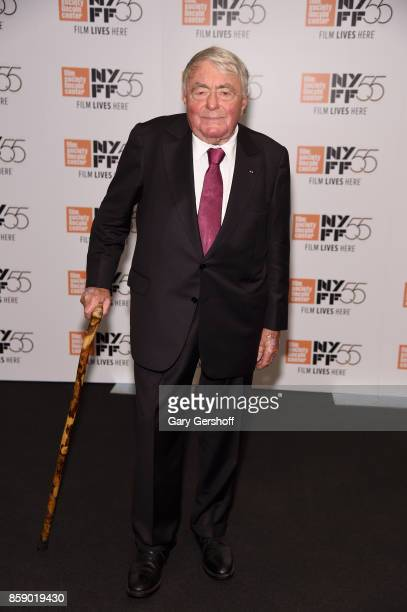 Director Claude Lanzmann attends Four Sisters The Hippocratic Oath during the 55th New York Film Festival at The Film Society of Lincoln Center...