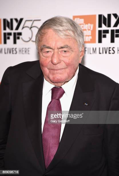 Director Claude Lanzmann attends the Four Sisters The Hippocratic Oath during the 55th New York Film Festival at The Film Society of Lincoln Center...