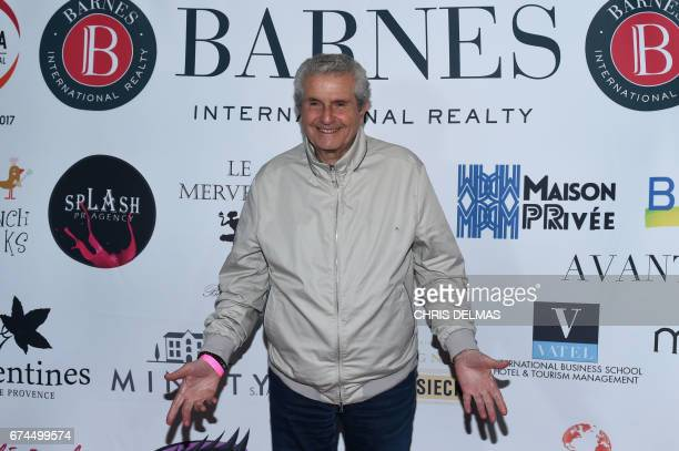 Director Claude Lelouch attends the Barnes Los Angeles afterparty at COLCOA A Week Of French Film Premieres In Hollywood on April 27 in Beverly Hills...