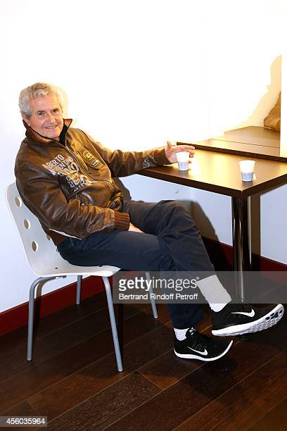 Director Claude Lelouch attends the 'Vivement Dimanche' French TV Show at Pavillon Gabriel on September 24 2014 in Paris France