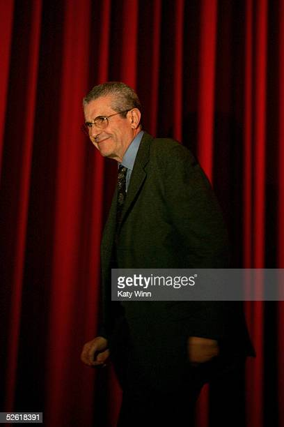 Director Claude Lelouch walks onstage at the 9th Annual City of Lights, City of Angels Film Festival held at the Directors Guild building on April...