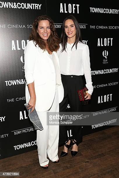 Director Claudia Llosa and actress Jennifer Connelly attend The Cinema Society with Town Country host a special screening of Sony Pictures Classics'...
