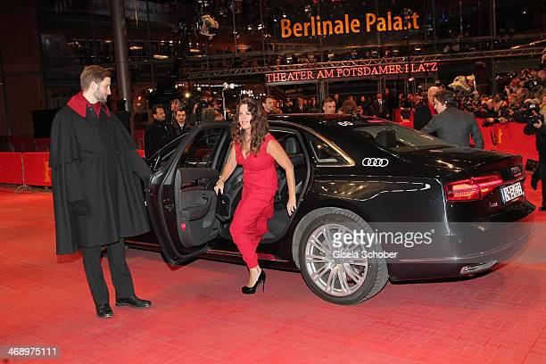 Director Claudia Llosa attends the 'Aloft' premiere during 64th Berlinale International Film Festival at Berlinale Palast on February 12 2014 in...