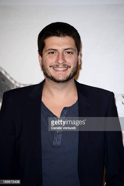 Director Claudio Giovannesi attends the'Ali Ha Gli Occhi Azzurri' Photocall the 7th Rome Film Festival at the Auditorium Parco Della Musica on...