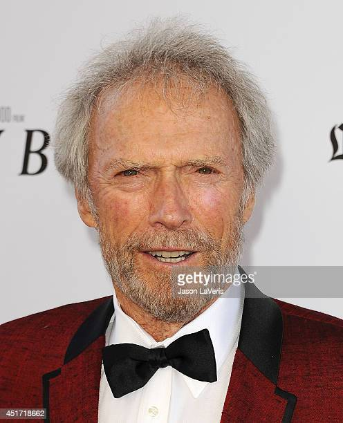 Director Clint Eastwood attends the 2014 Los Angeles Film Festival closing night film premiere of 'Jersey Boys' at Premiere House on June 19 2014 in...
