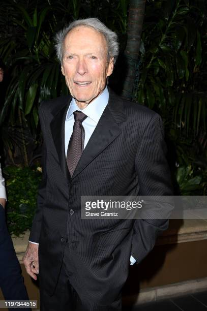 Director Clint Eastwood attends the 20th Annual AFI Awards at Four Seasons Hotel Los Angeles at Beverly Hills on January 03 2020 in Los Angeles...