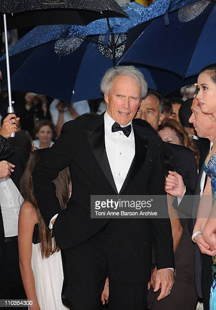 Director Clint Eastwood attends the 'Changeling' Premiere at the Palais des Festivals during the 61st Cannes International Film Festival on May 20...