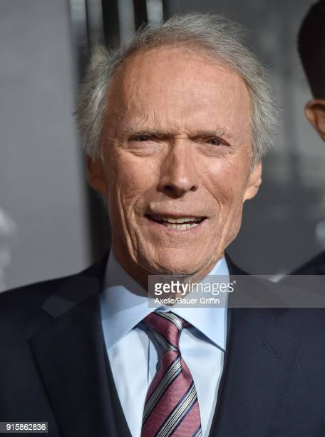 Director Clint Eastwood attends the premiere of 'The 1517 To Paris' at Warner Bros Studios on February 5 2018 in Burbank California