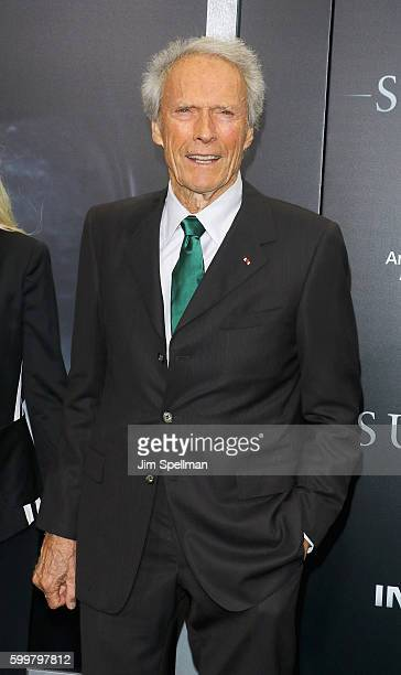 Director Clint Eastwood attends the 'Sully' New York premiere at Alice Tully Hall Lincoln Center on September 6 2016 in New York City