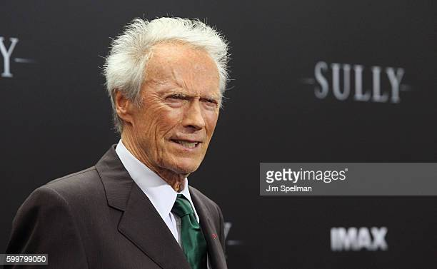 """Director Clint Eastwood attends the """"Sully"""" New York premiere at Alice Tully Hall, Lincoln Center on September 6, 2016 in New York City."""
