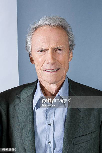 Director Clint Eastwood of 'Sully' is photographed for Los Angeles Times on August 28 2016 in Los Angeles California PUBLISHED IMAGE
