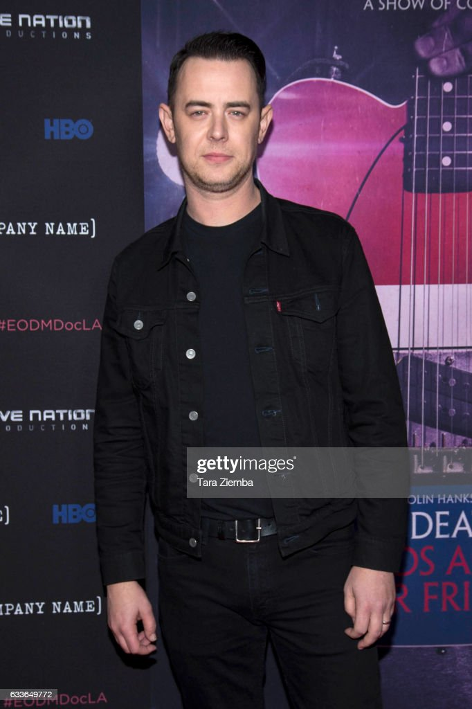 Director Colin Hanks arrives for the premiere of HBO's 'Eagles Of Death Metal: Nos Amis (Our Friends)' at Avalon Hollywood on February 2, 2017 in Los Angeles, California.