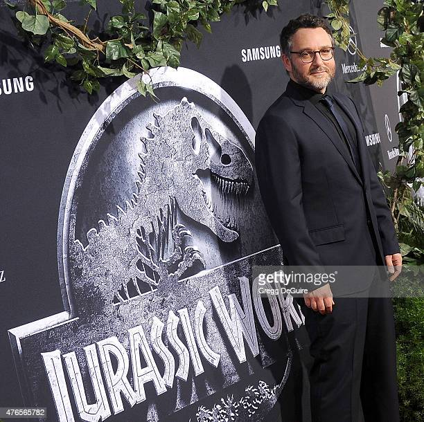 Director Colin Trevorrow arrives at the World Premiere of 'Jurassic World' at Dolby Theatre on June 9 2015 in Hollywood California