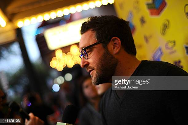 Director Colin Trevorrow arrives to the premiere of Safety Not Guaranteed during 2012 SXSW Music Film Interactive Festival at the Paramount Theatre...