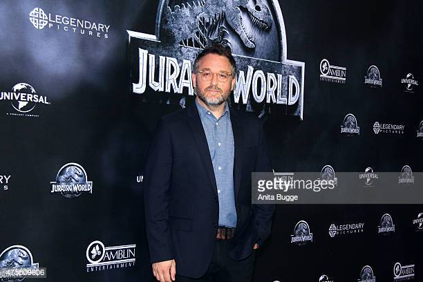 Director Colin Trevorrow attends the 'Jurassic World' Berlin photocall at The Regent Hotel on June 1 2015 in Berlin Germany