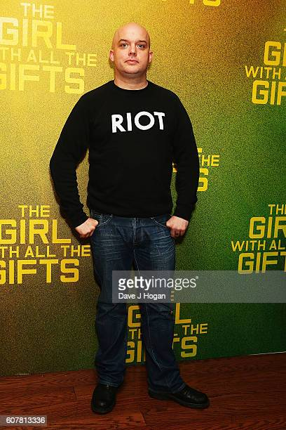 """Director Colm McCarthy attends a special screening of """"The Girl With All The Gifts"""" at Vue West End on September 19, 2016 in London, England."""