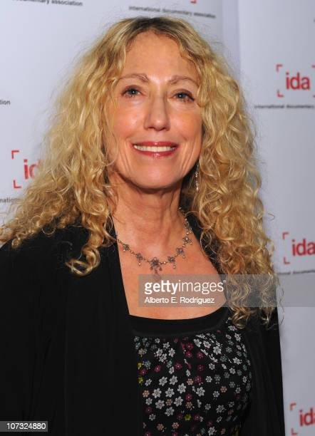 Director Connie Field arrive at the International Documentary Association's 26th annual awards ceremony at the Directors Guild Of America on December...