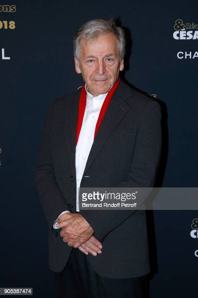 Director Constantin CostaGavras attends the 'Cesar Revelations 2018' Party at Le Petit Palais on January 15 2018 in Paris France