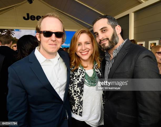Director Content Acquisition at Netflix Ian Bricke producer Laura Rister and producer Alex Lipschultz attend the 2017 Film Independent Spirit Awards...