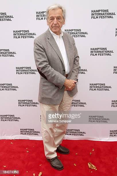 Director Costa-Gavras attends the 21st Annual Hamptons International Film Festival on October 11, 2013 in East Hampton, New York.