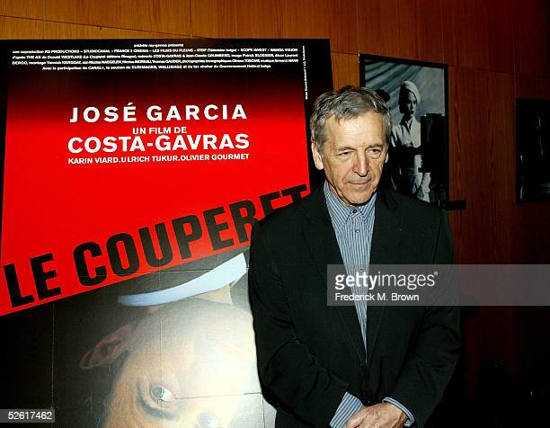 Director Costa-Gavras attends the opening night reception for the 9th Annual City of Lights, City of Angels Film Festival held at the Directors Guild...