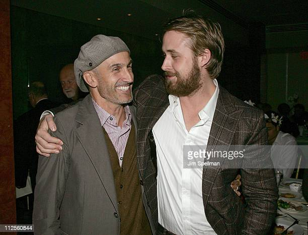 Director Craig Gillespie and Actor Ryan Gosling attend the 'Lars and the Real Girl' Premiere After Party at The Brasserie 8 1/2 on October 3 2007 in...