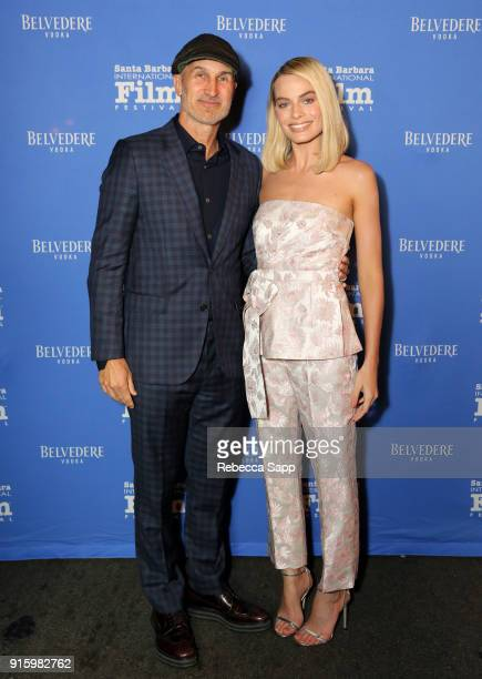 Director Craig Gillespie and actress Margot Robbie at the Outstanding Performers Honoring Margot Robbie and Allison Janney Presented By Belvedere...