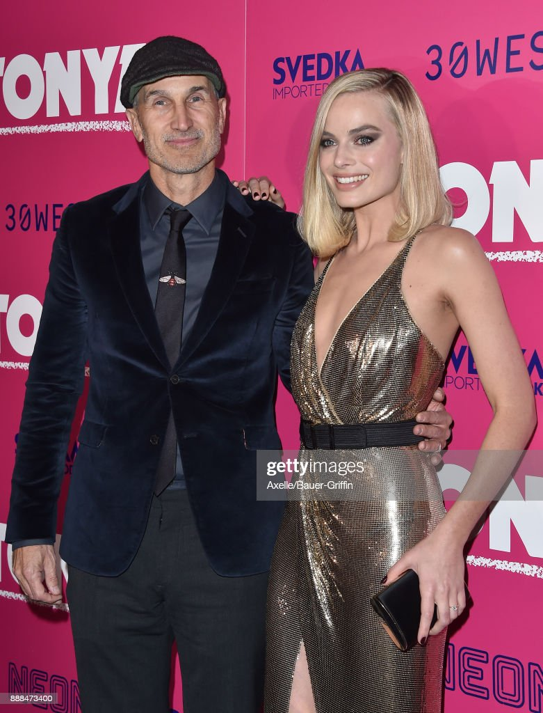 Director Craig Gillespie and actress Margot Robbie attend the Los Angeles premiere of 'I, Tonya' at the Egyptian Theatre on December 5, 2017 in Hollywood, California.